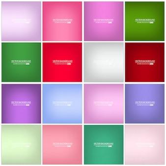 Fondo borroso multicolor