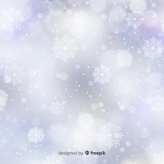Fondo borroso de navidad