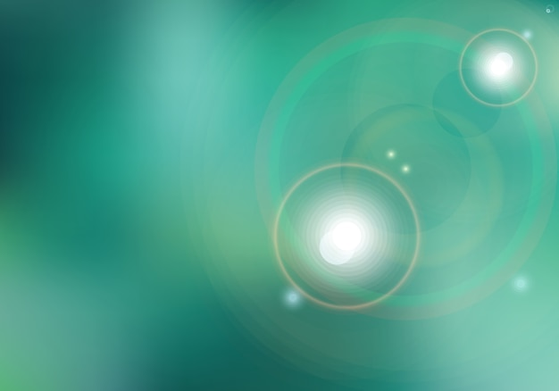 Fondo borroso verde abstracto