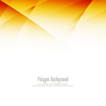 Fondo brillante abstracto del diseño del polígono
