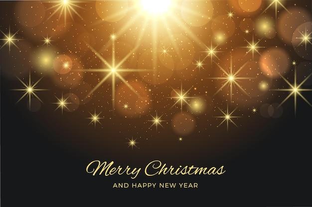 Fondo brillante de navidad