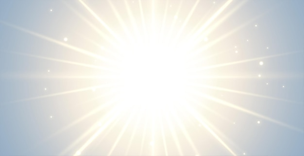 Fondo brillante con rayos estallando