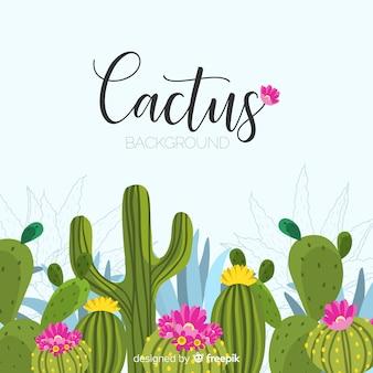 Fondo de cactus