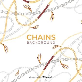Fondo de cadenas