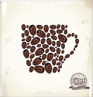 Fondo de cafe
