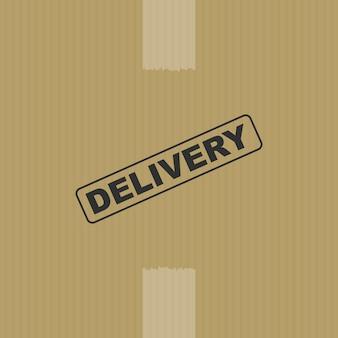 Fondo de caja de entrega