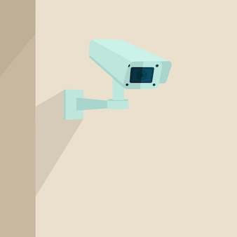 Fondo de cámara de seguridad