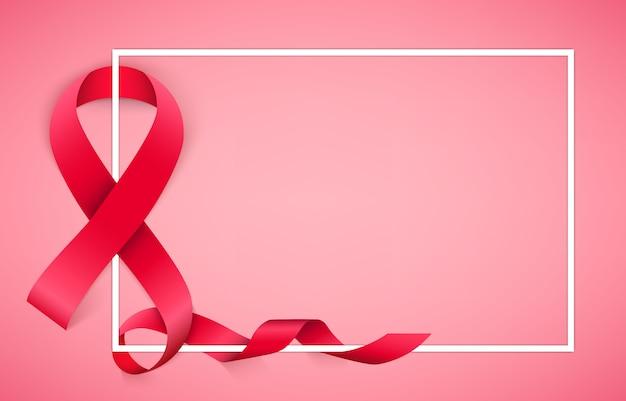 Fondo de campaña de concientización sobre el cáncer de mama.