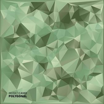 Fondo de camuflaje militar abstracto hecho de formas geométricas de triángulos. ilustración.