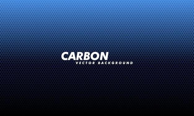 Fondo de carbono con hexágonos