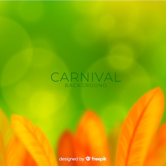 Fondo del carnaval de brasil borroso