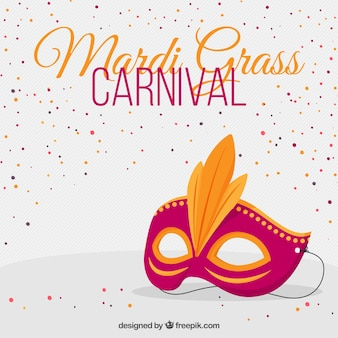 Fondo de carnaval mardi grass