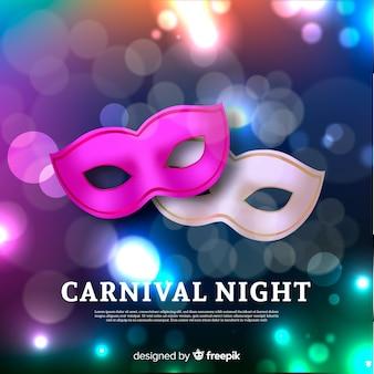Fondo de carnaval realista