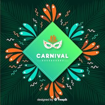 Fondo carnaval rombo