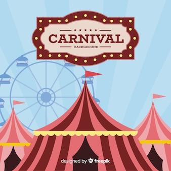 Fondo de carnaval vintage