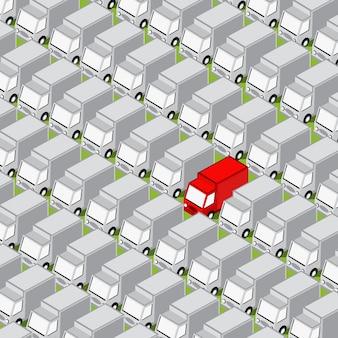 Fondo de carretera isométrica