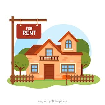 Fondo de casa en alquiler
