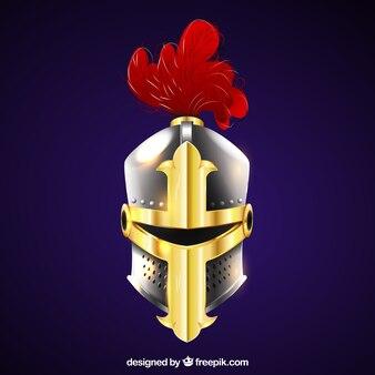 Fondo de casco de armadura