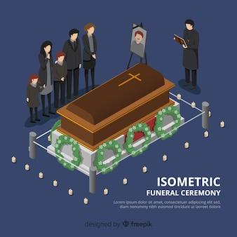 Fondo ceremonia funeral