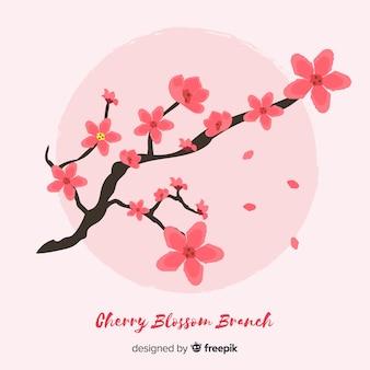 Fondo de cerezo en flor