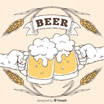 Fondo con cervezas