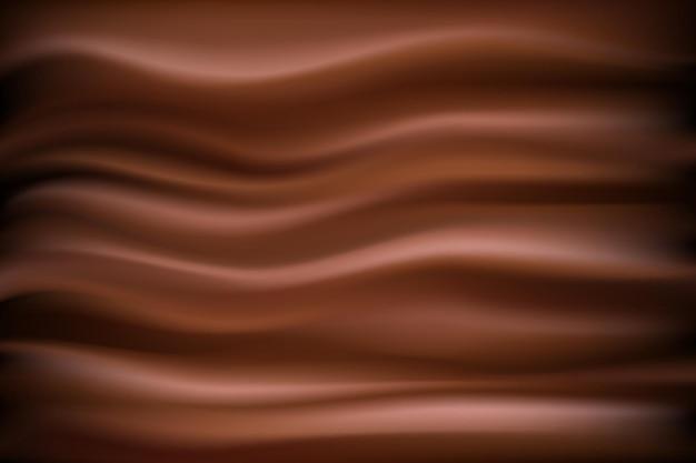 Fondo de chocolate abstracto. ilustración chocolate telón de fondo ondulado
