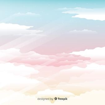 Fondo de cielo melancólico