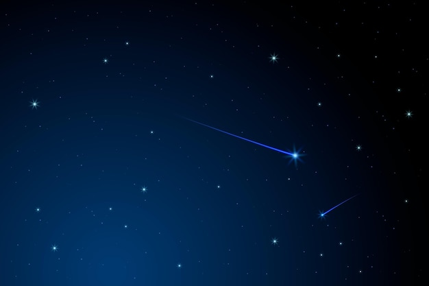 Fondo de cielo nocturno para video conferencia
