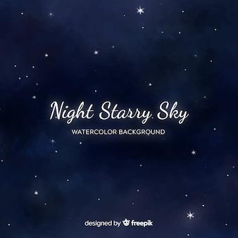 Fondo cielo nocturno