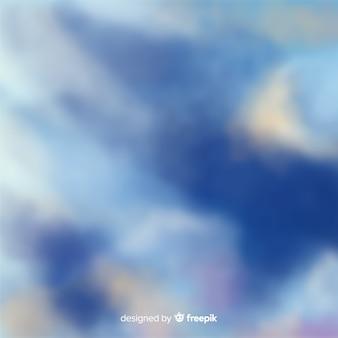 Fondo cielo nuboso