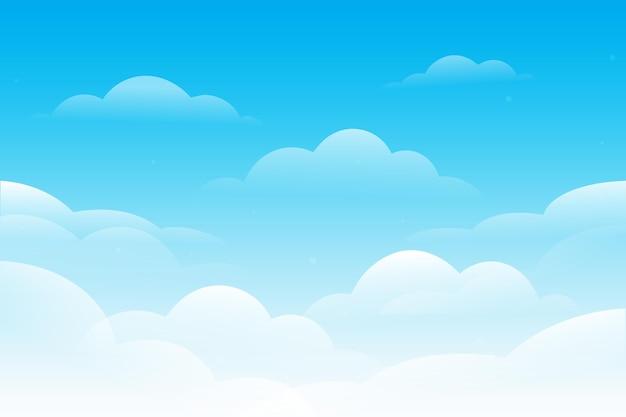 Fondo de cielo para videoconferencia