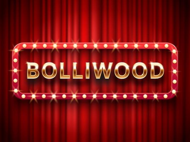 Fondo de cine de bollywood.