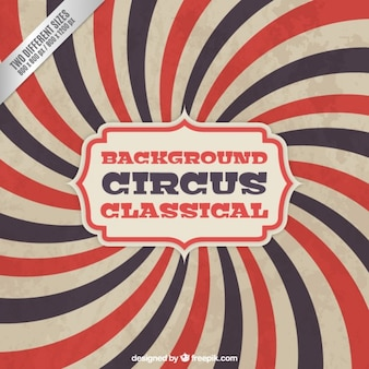 Fondo de circo clásico