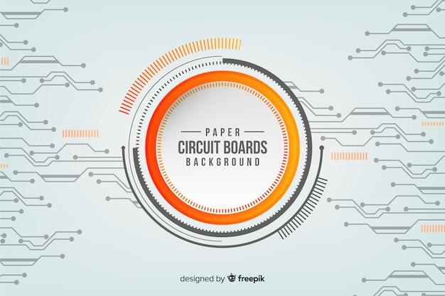 Fondo con circuito