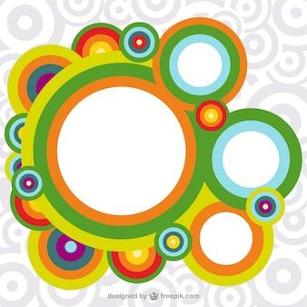 Fondo círculos de colores