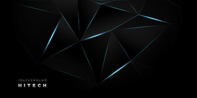 Fondo claro azul oscuro de hitech