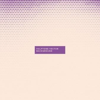 Fondo claro con puntos de semitono púrpuras