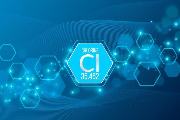 Fondo de cloro