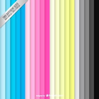 Fondo cmyk con rayas de colores verticales