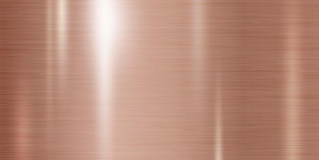Fondo de cobre metal textura