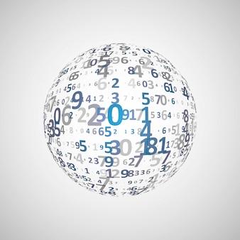 Fondo de código digital