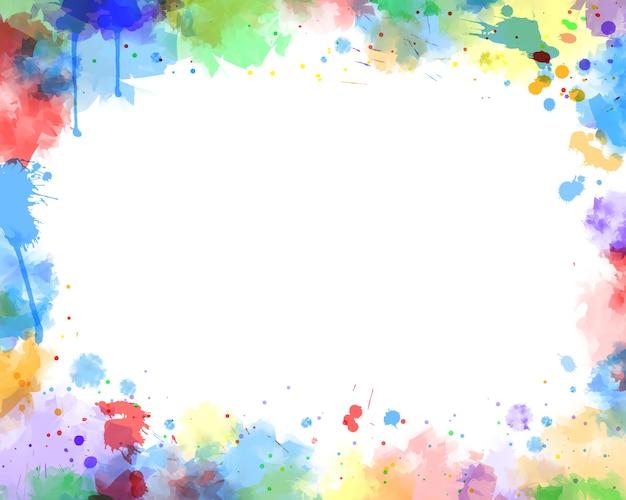 Fondo de color de agua