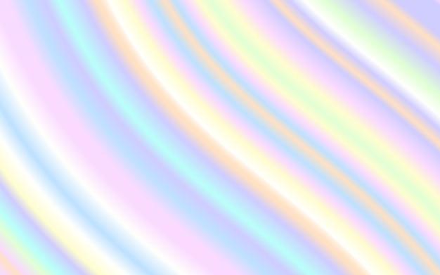 Fondo de color de arco iris pastel de forma líquida de onda