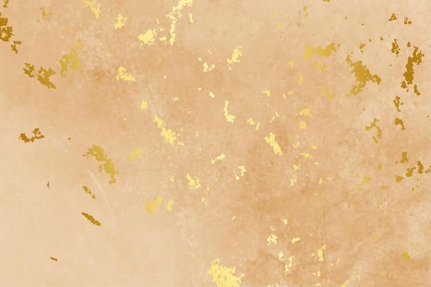 Fondo de color pastel con textura de hoja de oro