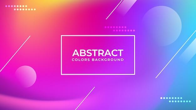 Fondo de colores abstractos