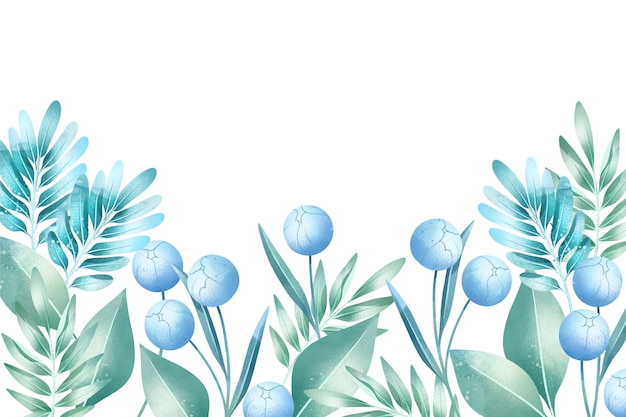 Fondo colores pastel acuarela flores