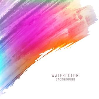 Fondo colorido abstracto de acuarela