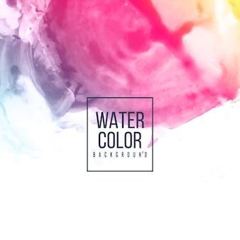 Fondo colorido abstracto acuarela