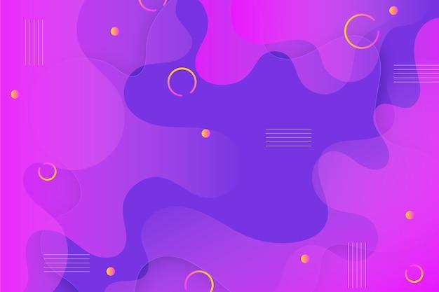 Fondo colorido abstracto círculos y puntos
