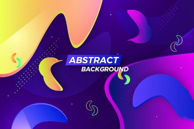 Fondo colorido abstracto creativo de la onda